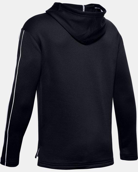 Boys' UA Sportstyle ½ Zip Hoodie, Black, pdpMainDesktop image number 1
