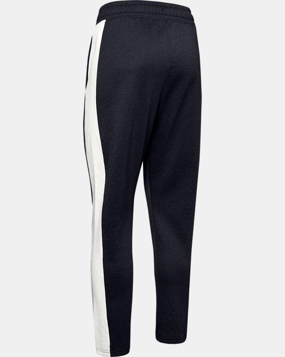 Women's UA RECOVER™ Fleece Pants, Black, pdpMainDesktop image number 4