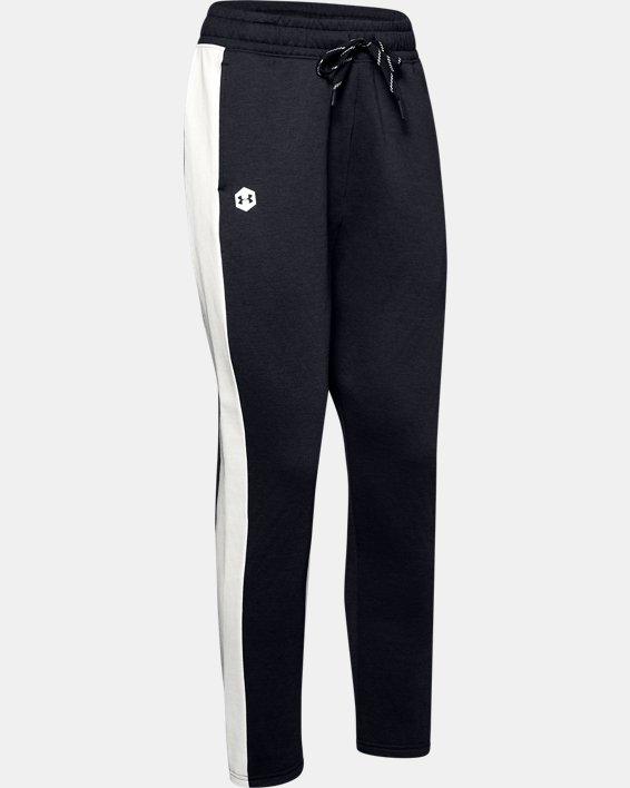 Women's UA RECOVER™ Fleece Pants, Black, pdpMainDesktop image number 3