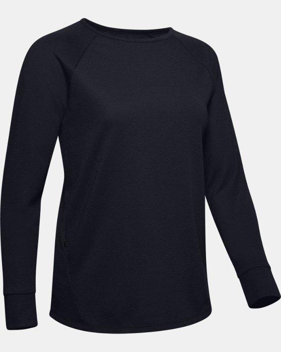 Women's ColdGear® Infrared Long Sleeve, Black, pdpMainDesktop image number 3