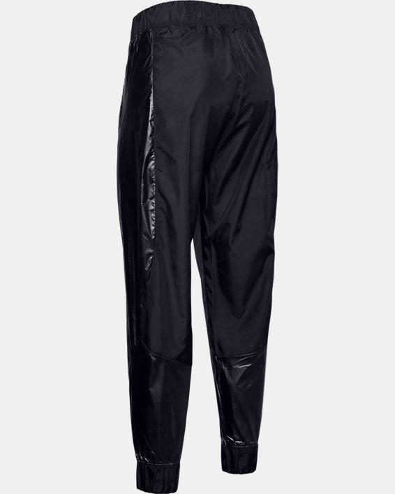 Women's UA Metallic Woven Pants, Black, pdpMainDesktop image number 5