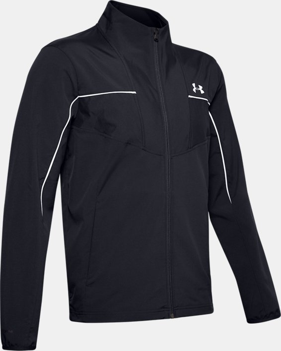 Men's UA Storm Windstrike Full Zip, Black, pdpMainDesktop image number 3