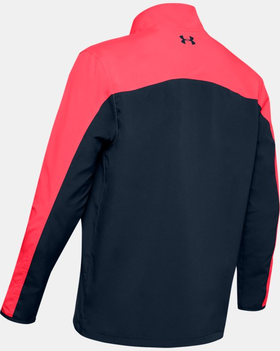 Men's UA Storm Windstrike Full Zip, Red, pdpMainDesktop image number 4