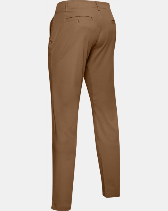 Men's UA Iso-Chill Tapered Pants, Brown, pdpMainDesktop image number 5