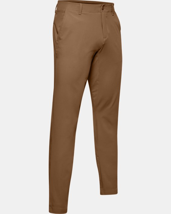 Men's UA Iso-Chill Tapered Pants, Brown, pdpMainDesktop image number 4
