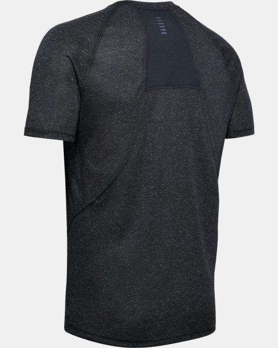 Men's UA Breeze Short Sleeve T-Shirt, Black, pdpMainDesktop image number 5
