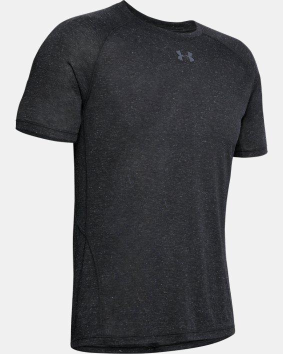 Men's UA Breeze Short Sleeve T-Shirt, Black, pdpMainDesktop image number 4