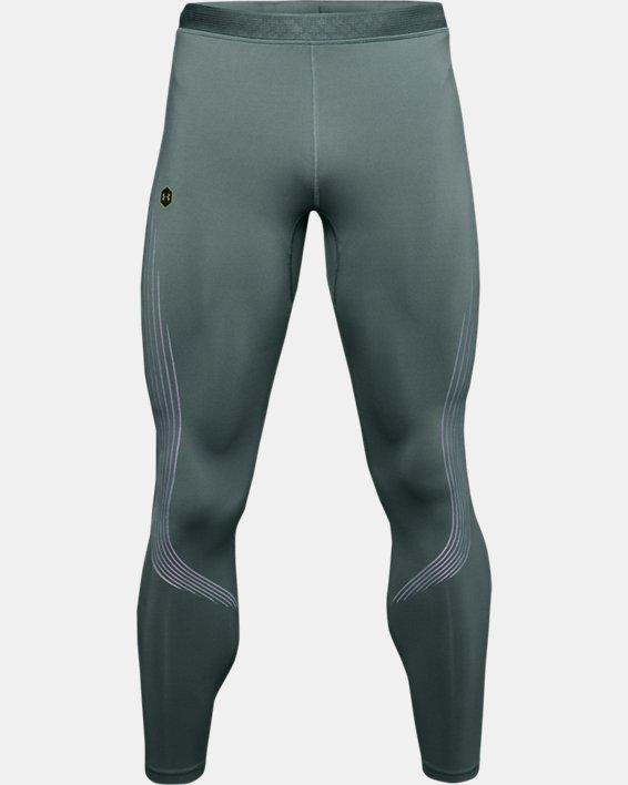 Men's UA RUSH™ Run Stamina Tights, Blue, pdpMainDesktop image number 0