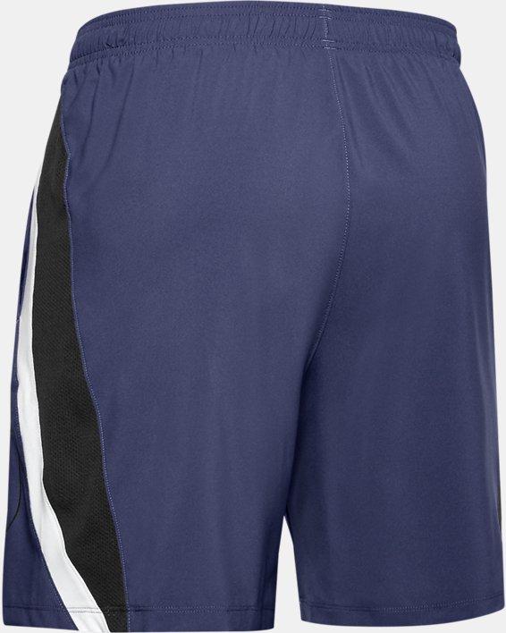 Men's UA Launch SW Branded 7'' Shorts, Blue, pdpMainDesktop image number 5