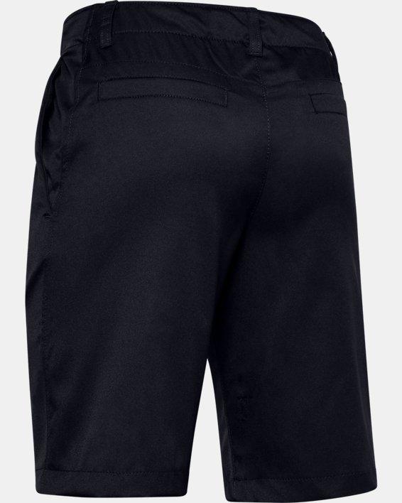 Boys' UA Showdown Shorts, Black, pdpMainDesktop image number 1