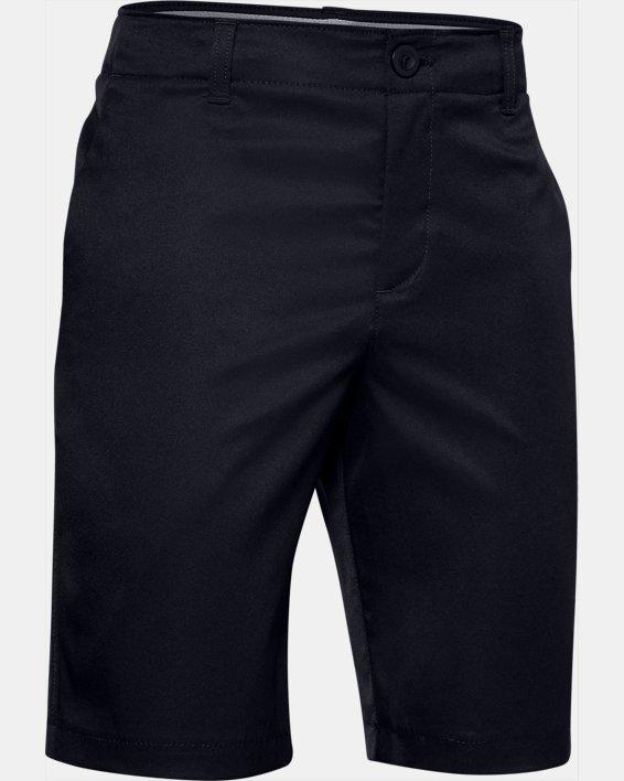 Boys' UA Showdown Shorts, Black, pdpMainDesktop image number 0