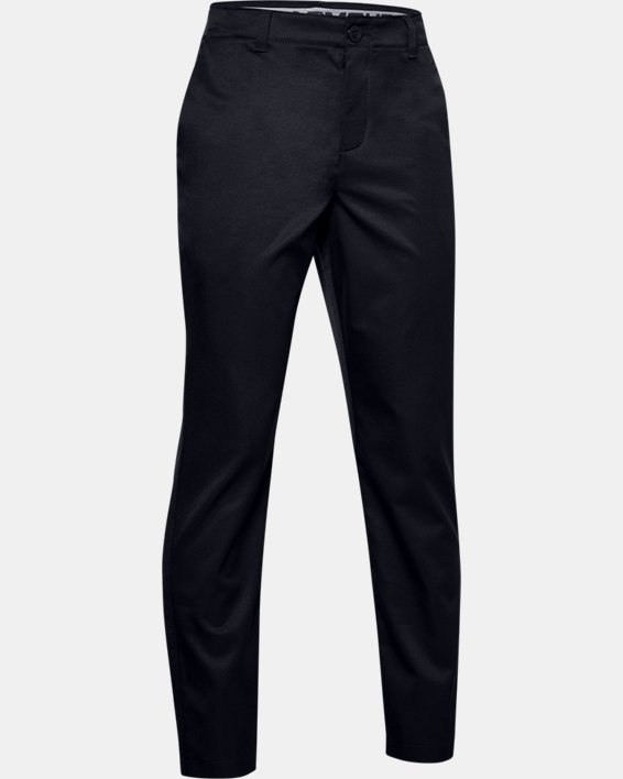 Boys' UA Showdown Pants, Black, pdpMainDesktop image number 0