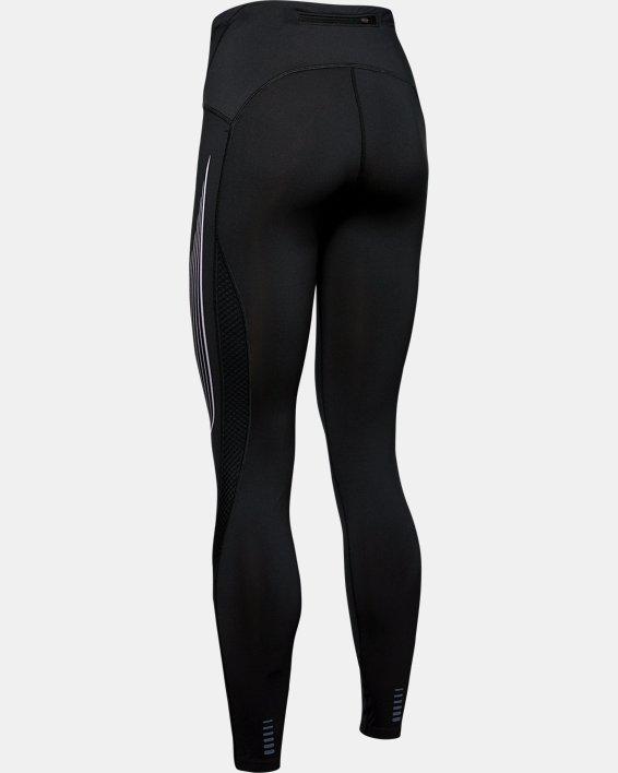 Women's UA RUSH™ Run Stamina Tights, Black, pdpMainDesktop image number 5