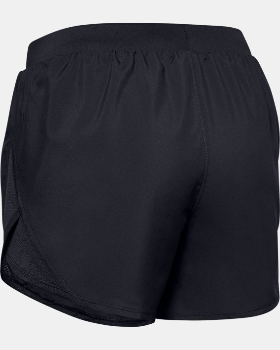 Women's UA Fly-By 2.0 Shorts, Black, pdpMainDesktop image number 7