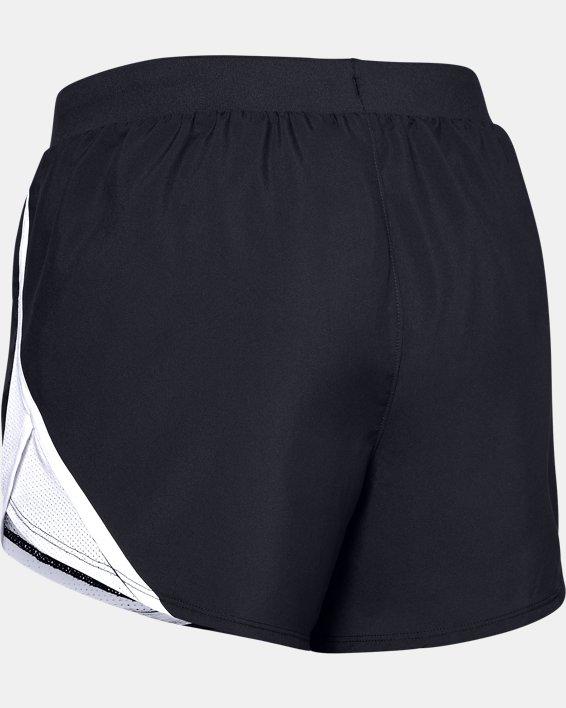 Women's UA Fly-By 2.0 Shorts, Black, pdpMainDesktop image number 5