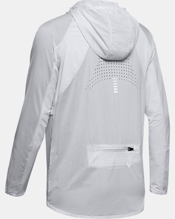 Women's UA Qualifier Weightless Packable Jacket, Gray, pdpMainDesktop image number 4