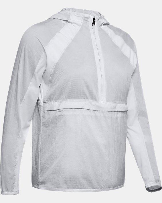 Women's UA Qualifier Weightless Packable Jacket, Gray, pdpMainDesktop image number 3