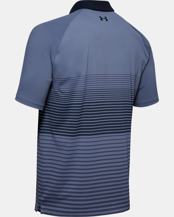 Men's UA Iso-Chill Polo Stripe, Blue, pdpMainDesktop image number 5