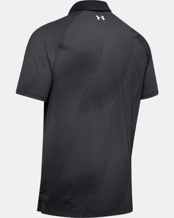 Men's UA Iso-Chill Polo, Black, pdpMainDesktop image number 4