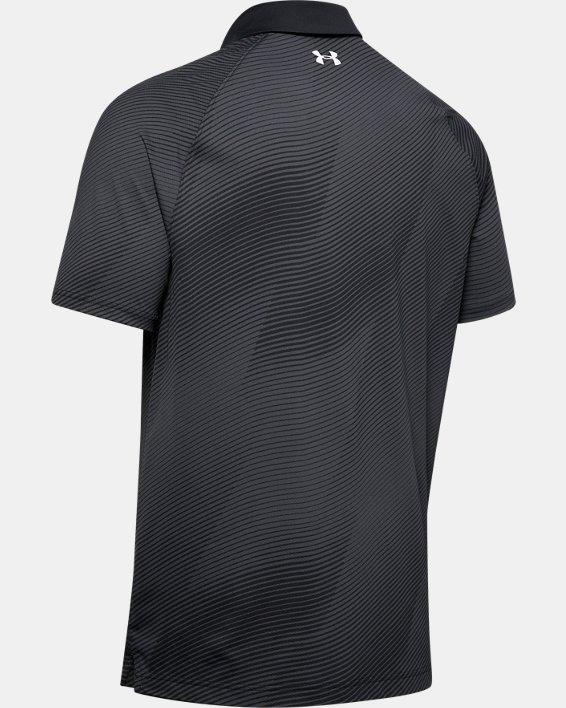 Men's UA Iso-Chill Polo, Black, pdpMainDesktop image number 4