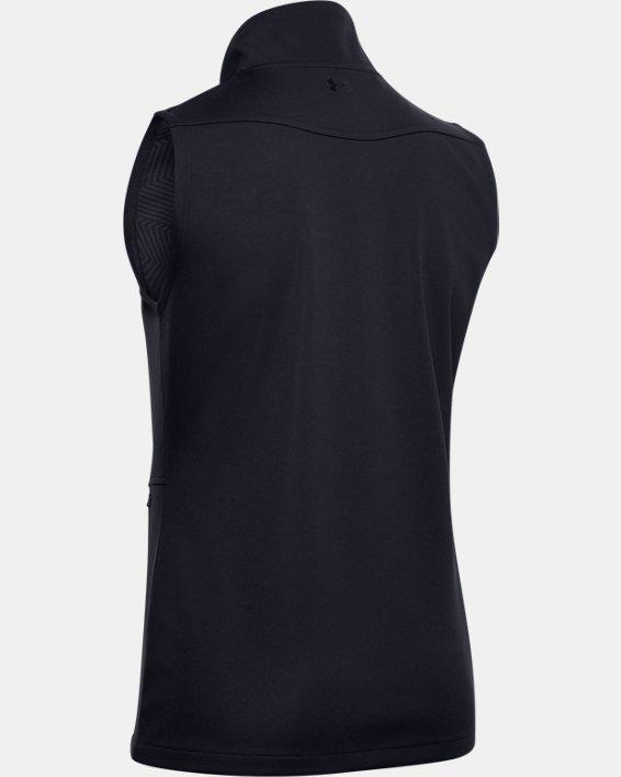 Women's UA Soft Shell Vest, Black, pdpMainDesktop image number 4