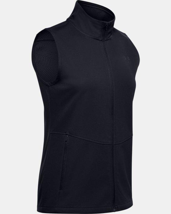 Women's UA Soft Shell Vest, Black, pdpMainDesktop image number 3