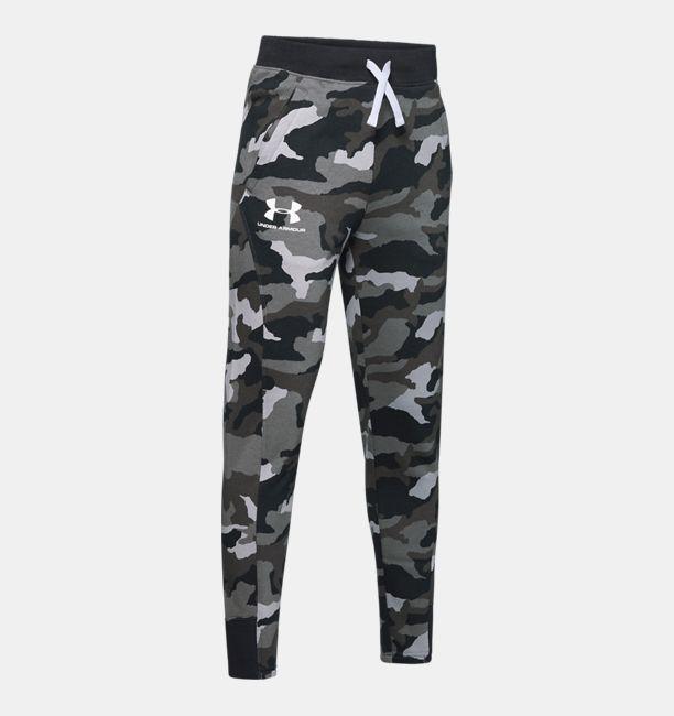 buty temperamentu gorące produkty Stany Zjednoczone Boys' UA Rival Printed Camo Joggers