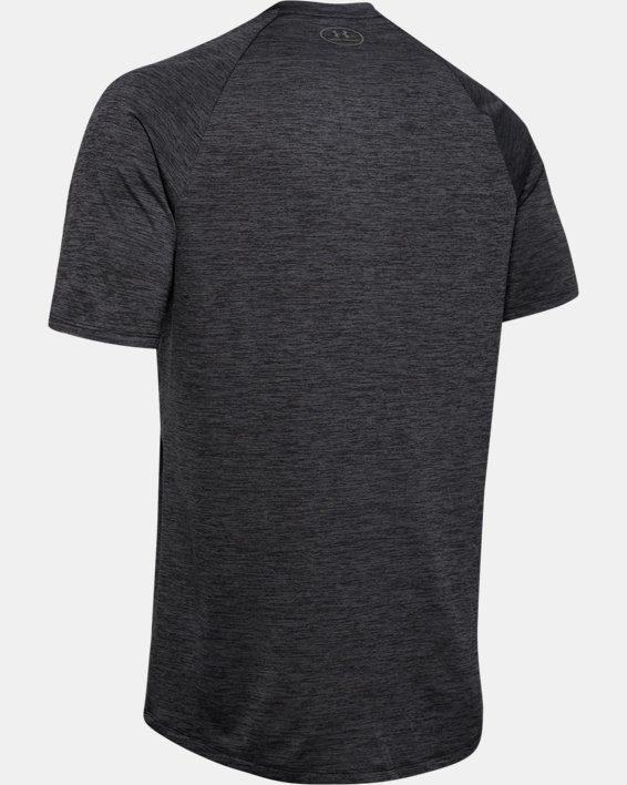 Men's UA Tech™ Graphic Short Sleeve T-Shirt, Black, pdpMainDesktop image number 5