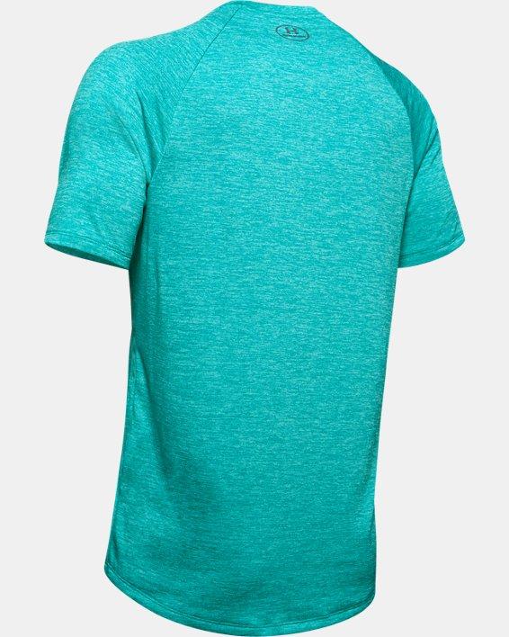 Men's UA Tech™ Graphic Short Sleeve T-Shirt, Green, pdpMainDesktop image number 5