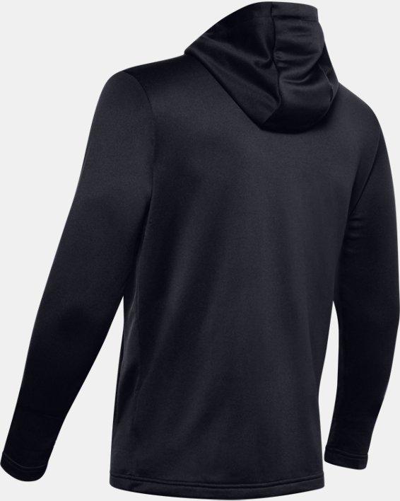 Men's UA Tech™ Terry Full Zip, Black, pdpMainDesktop image number 5