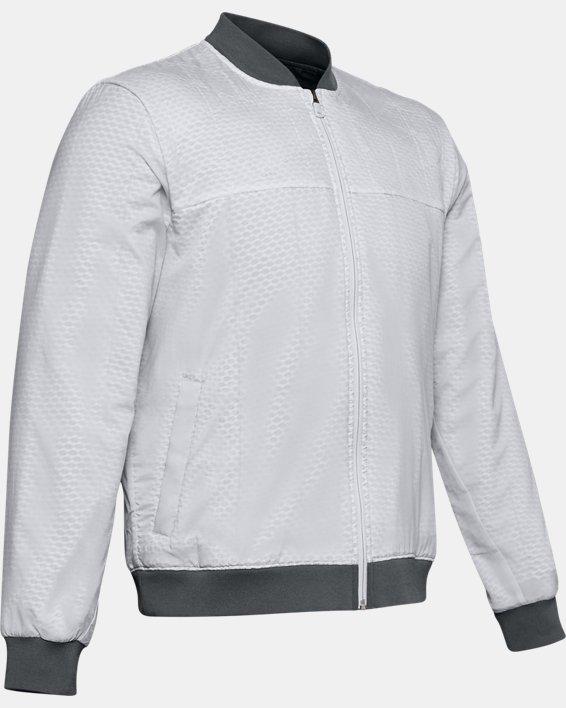 Men's ColdGear® Reactor Bomber Jacket, Gray, pdpMainDesktop image number 4
