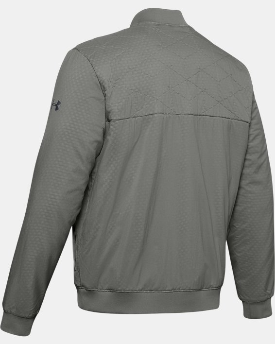 Men's ColdGear® Reactor Bomber Jacket, Green, pdpMainDesktop image number 5