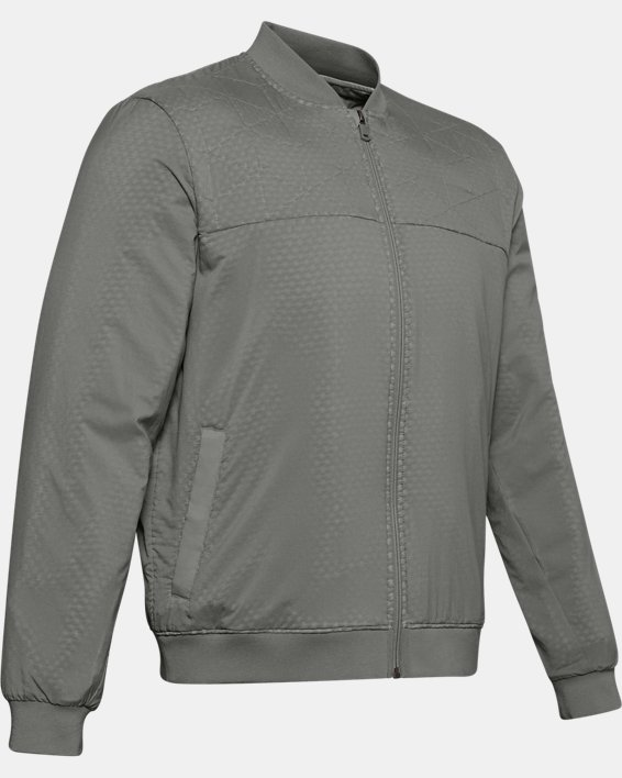 Men's ColdGear® Reactor Bomber Jacket, Green, pdpMainDesktop image number 4