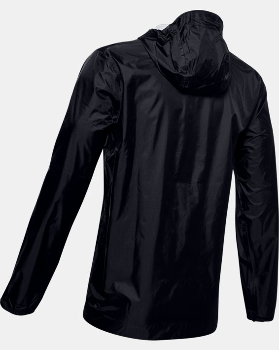 Men's UA Cloudburst Shell Jacket, Black, pdpMainDesktop image number 5