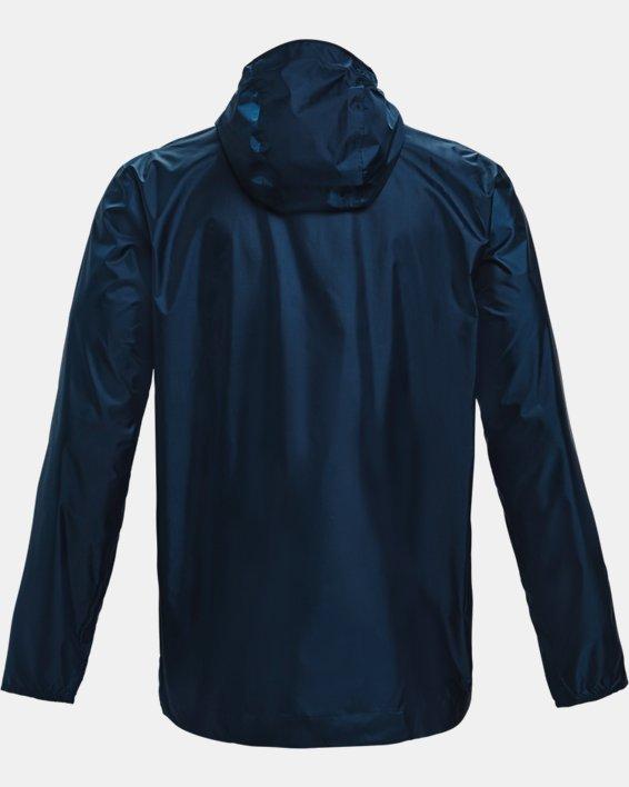Men's UA Cloudstrike Shell Jacket, Navy, pdpMainDesktop image number 4