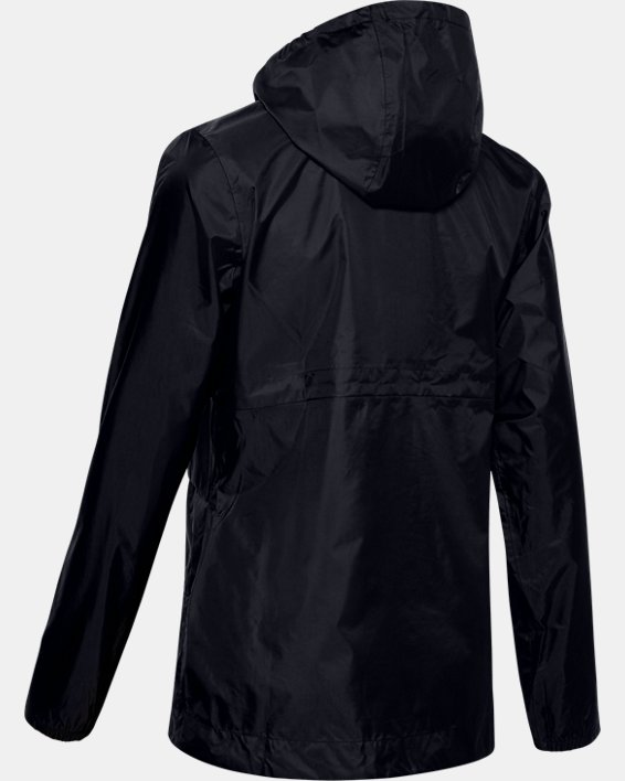 Women's UA Cloudburst Shell Jacket, Black, pdpMainDesktop image number 4