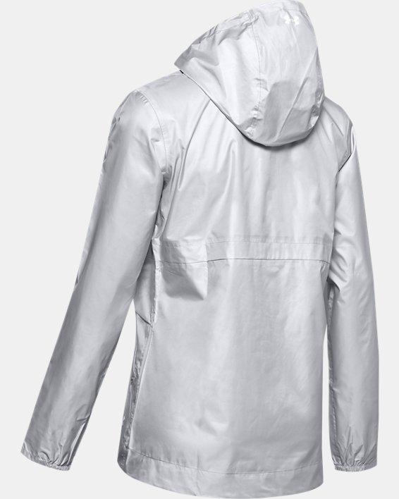 Women's UA Cloudburst Shell Jacket, Gray, pdpMainDesktop image number 4
