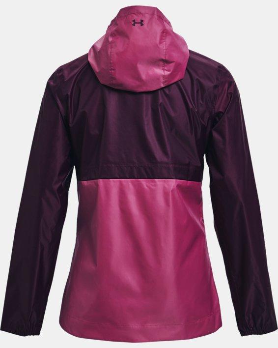 Women's UA Cloudstrike Shell Jacket, Purple, pdpMainDesktop image number 6