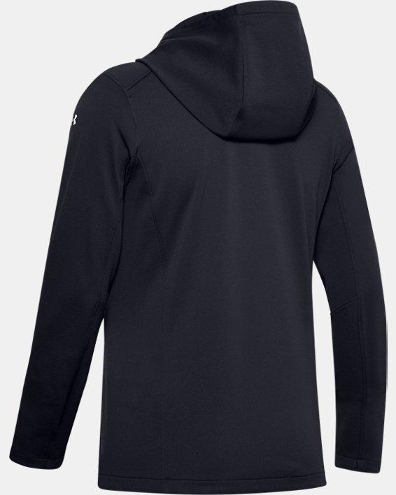 Women's ColdGear® Reactor Hybrid Lite Print Jacket, Black, pdpMainDesktop image number 4