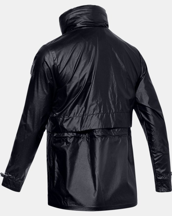Men's UA Impasse Synch Wind Jacket, Black, pdpMainDesktop image number 4