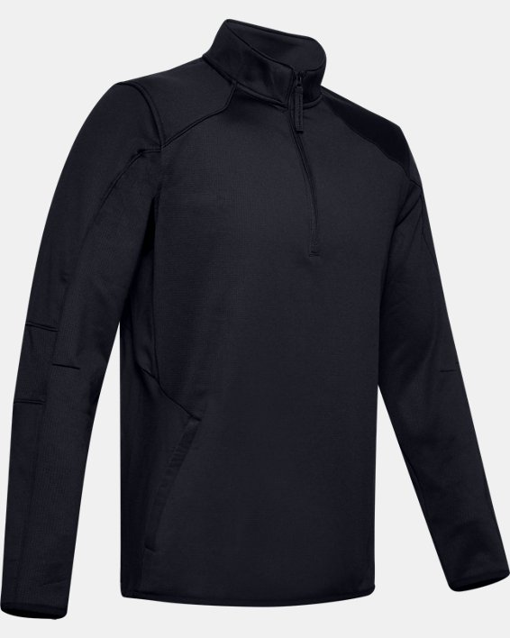 Fleece 1/2 Zip, Black, pdpMainDesktop image number 4