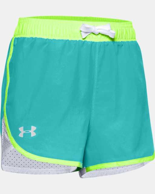 Girls' UA Fast Lane Shorts
