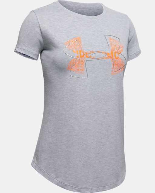 Girls' UA Big Logo T-Shirt