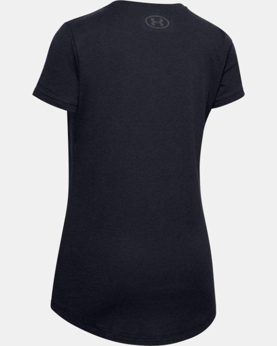 Girls' UA Own the Field T-Shirt, Black, pdpMainDesktop image number 1