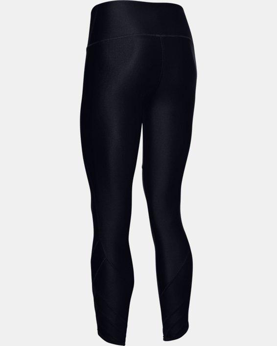 Women's HeatGear® Armour Cutout Ankle Crop, Black, pdpMainDesktop image number 5