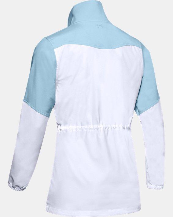 Veste UA Storm Windstrike Full Zip pour femme, Blue, pdpMainDesktop image number 5
