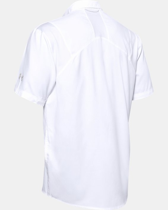 Men's UA Tide Chaser 2.0 Short Sleeve, White, pdpMainDesktop image number 4