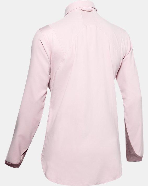 Women's UA Tide Chaser 2.0 Long Sleeve, Pink, pdpMainDesktop image number 4
