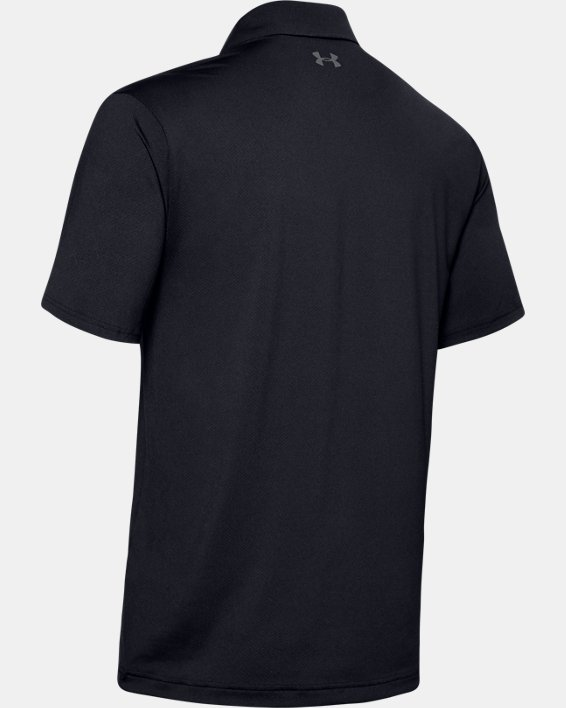 Men's UA Performance Polo, Black, pdpMainDesktop image number 5