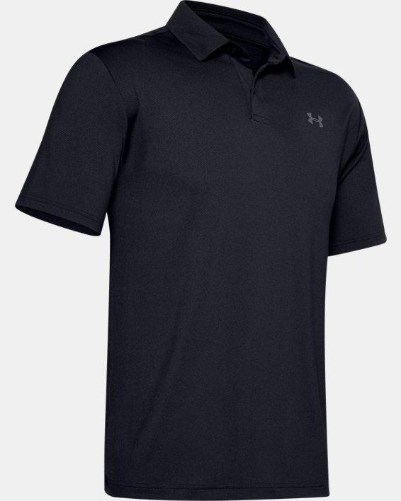 Men's UA Performance Polo, Black, pdpMainDesktop image number 4